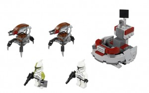 LEGO Star Wars Clone Troopers vs. Droidekas 75000 - Toysnbricks