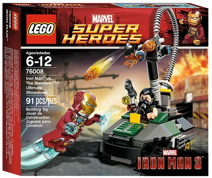 LEGO Superheroes Iron Man vs. The Mandarin Ultimate Showdown 76008 - Toysnbricks