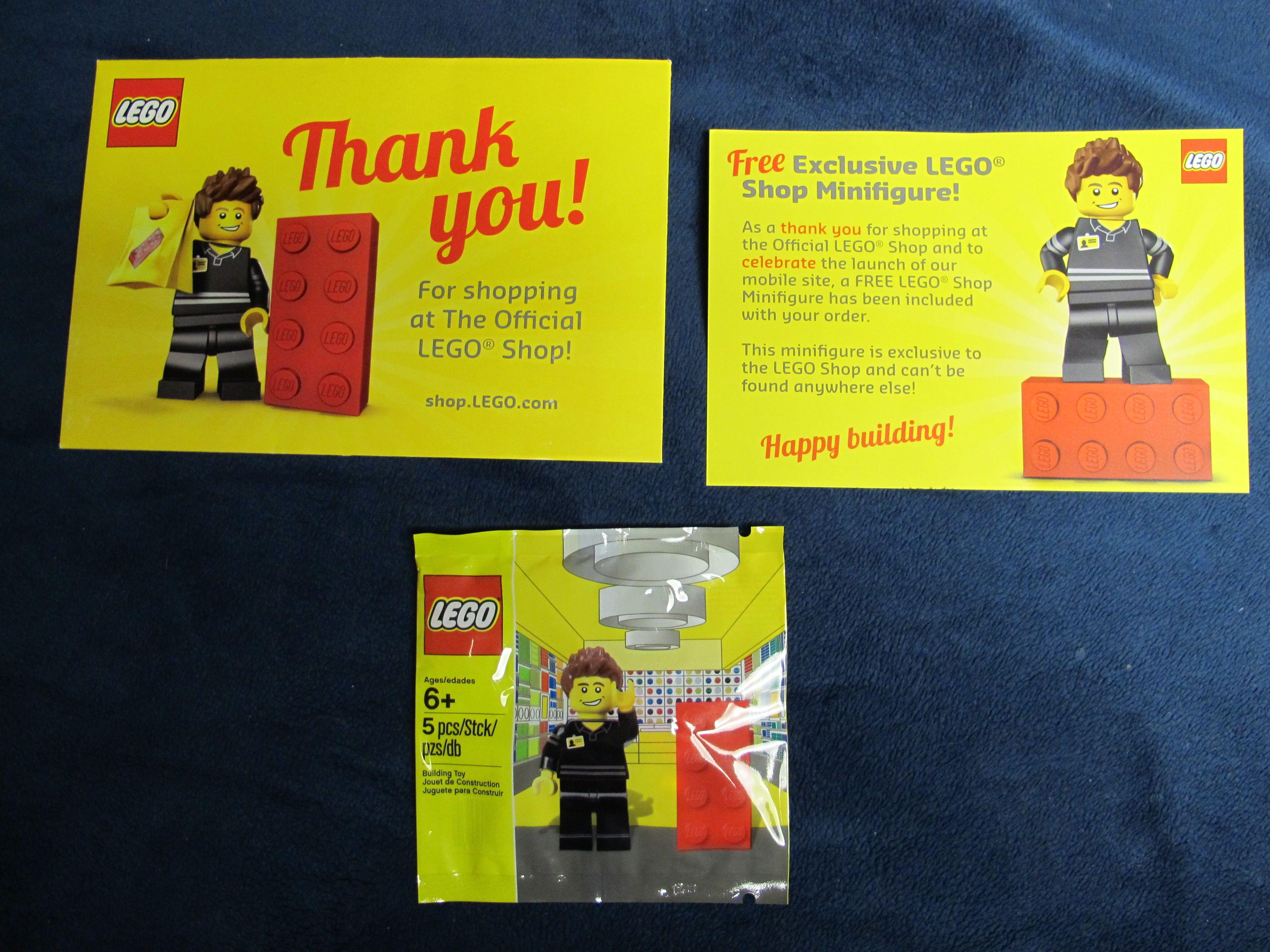 5001622 LEGO Store Employee Minifigure Updates – Toys N Bricks