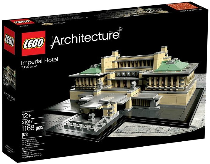 LEGO 21017 Architecture Imperial Hotel - Toysnbricks