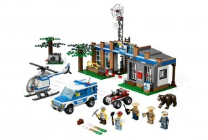 LEGO 4440 City Forest Police Station - Toysnbricks