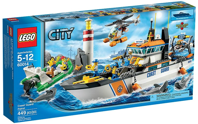 LEGO 60014 City Coast Guard Patrol - Toysnbricks