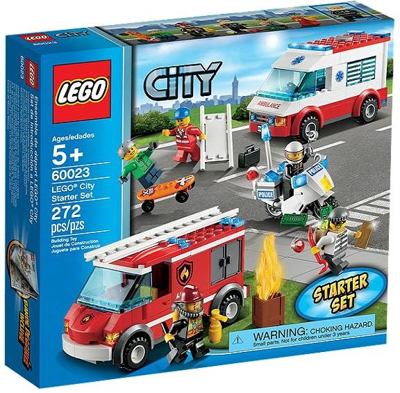 LEGO 60023 City Starter Set - Toysnbricks