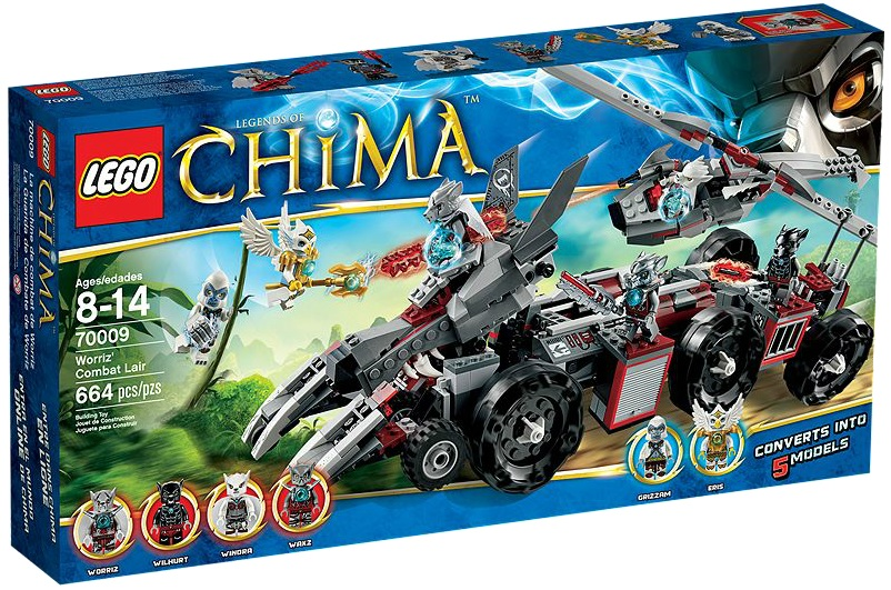 LEGO 70009 Chima Worriz' Combat Lair - Toysnbricks