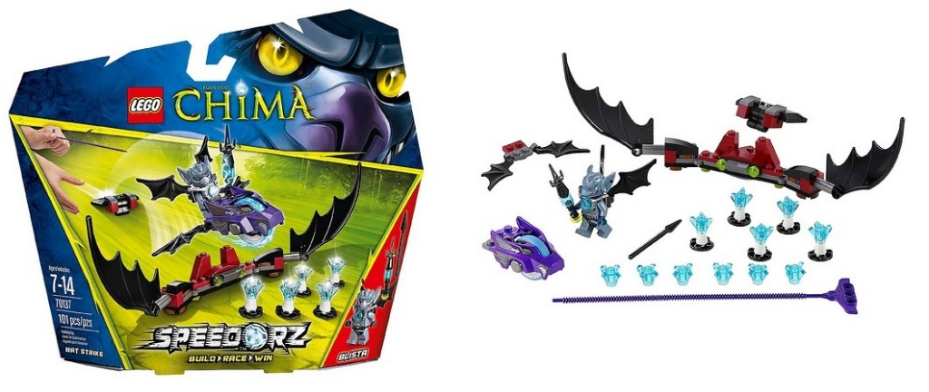 LEGO 70137 Speedorz Legends of Chima Bat Strike - Toysnbricks