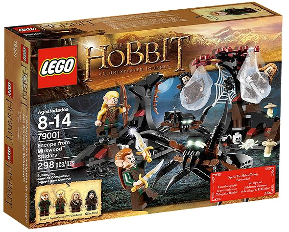 LEGO 79001 Hobbit Escape from Mirkwood Spiders - Toysnbricks