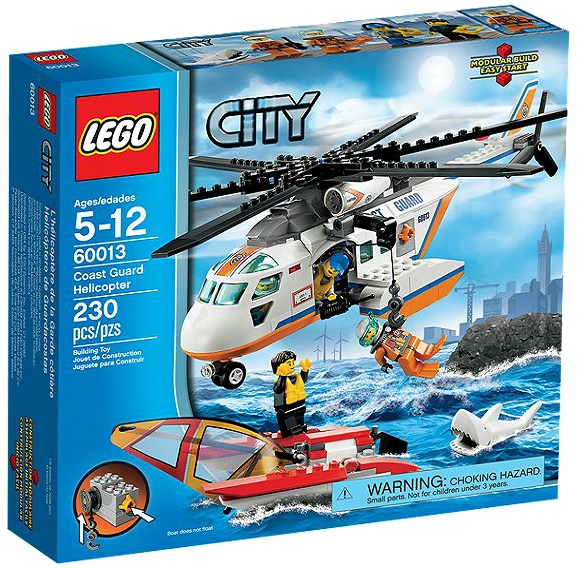 LEGO City 60013 Coast Guard Helicopter - Toysnbricks