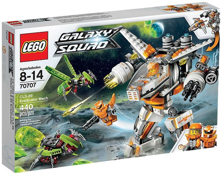 LEGO Galaxy Squad 70707 CLS-89 Eradicator Mech - Toysnbricks