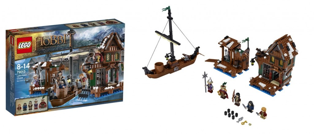 LEGO Hobbit 79013 Lake Town Chase