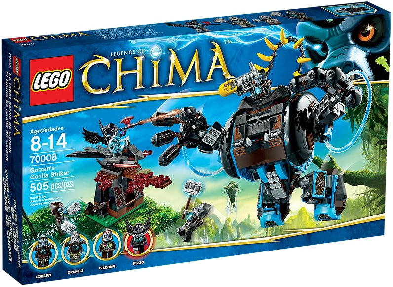 LEGO Legends of Chima 70008 Gorzan's Gorilla Striker - Toysnbricks