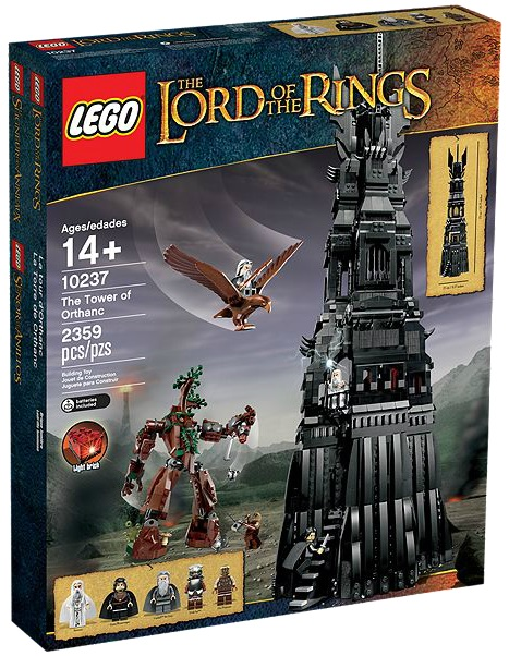 LEGO Lord of the Rings The Tower of Orthanc 10237 - Toysnbricks
