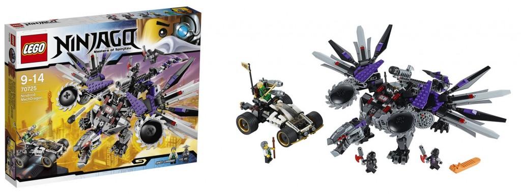 LEGO Ninjago Nindroid Mech Dragon 70725 - Toysnbricks
