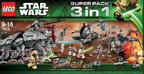 LEGO Star Wars Super Pack 3 in 1 (75019 75016 75015)