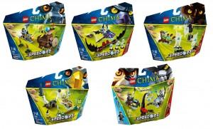 2014 LEGO Chima Speedorz (70136 70137 70138 70139 70140)