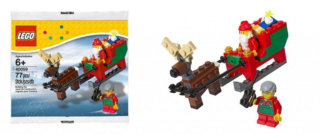LEGO 40059 Santa's Sleigh Christmas 2013 - Toysnbricks