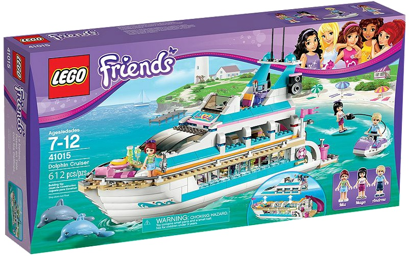 LEGO 41015 Friends Dolphin Cruiser - Toysnbricks