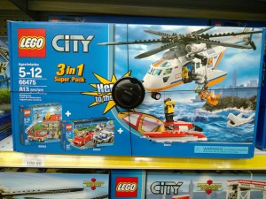 LEGO 66475 City 3-in-1 Super Pack Toys R Us