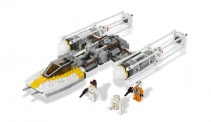LEGO 9495 Star Wars Gold Leader's Y-Wing Starfighter - Toysnbricks