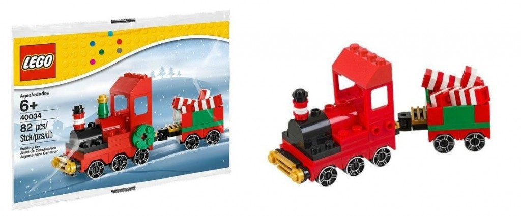 LEGO Christmas Train 40034 Promotional 2013 Polybag Set - Toysnbricks