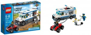 LEGO City 60043 Prisoner Transporter - Toysnbricks