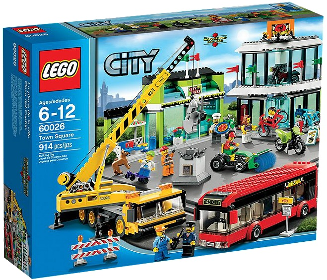 LEGO City Town Square 60026 - Toysnbricks