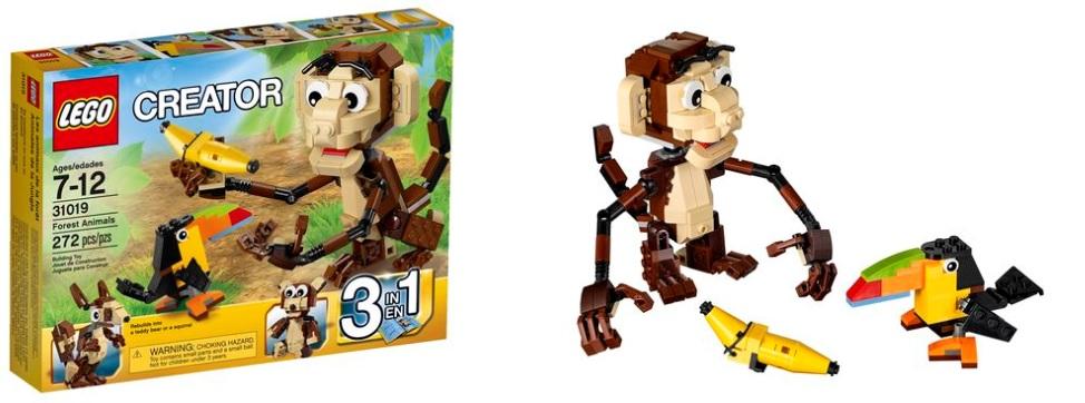 LEGO Creator 31019 Forest Animals - Toysnbricks