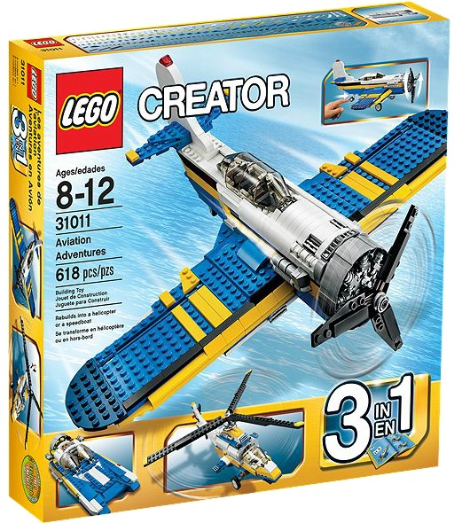 LEGO Creator Aviation Adventures 31011 - Toysnbricks