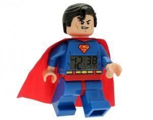 LEGO DC Universe Super Heroes Superman Minifigure Clock 5002424 - Toysnbricks