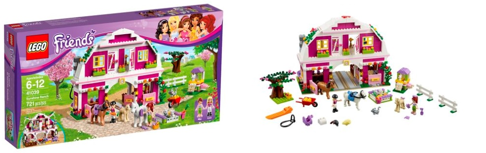 LEGO Friends 41039 Sunshine Ranch - Toysnbricks