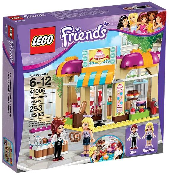 LEGO Friends Downtown Bakery 41006 - Toysnbricks