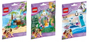 LEGO Friends Series 4 Animal Sets 41041 41042 41043 (Pre)