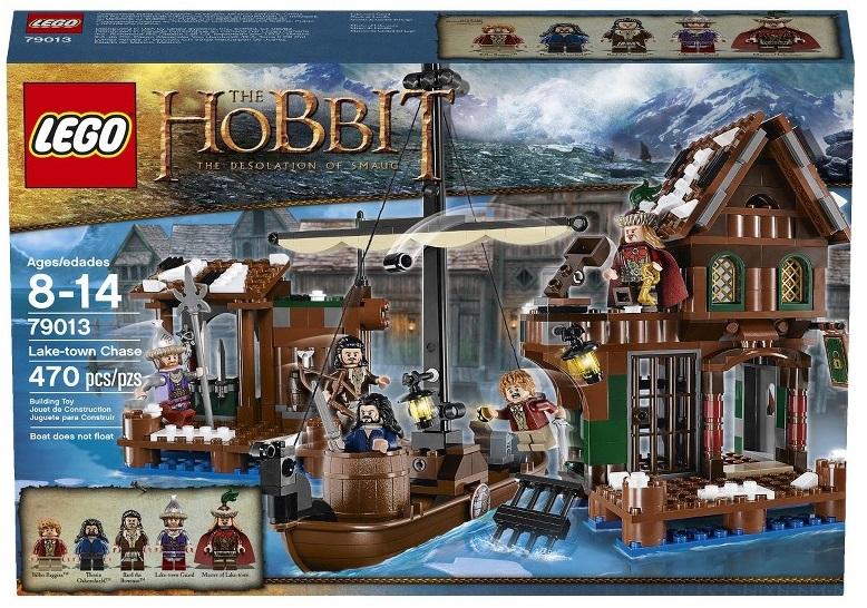 LEGO Hobbit Lake Town Chase 79013 - Toysnbricks