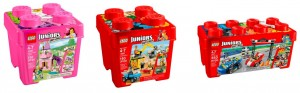 LEGO Juniors Buckets Princess Play Castle 10668, Construction 10667, Race Car Rally 10673 - Toysnbricks