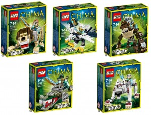 LEGO Legend Beast Chima 70123 70124 70125 70126 70127 (Pre)