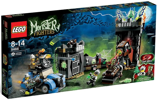 LEGO Monster Fighters The Crazy Scientist & His Monster 9466 - Toysnbricks