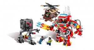 LEGO Movies Fire Helicopter 70813