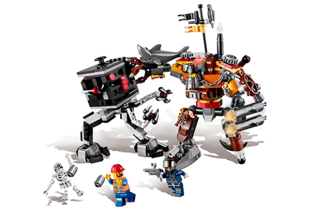 LEGO Movies Metal Beard's Duel 70807
