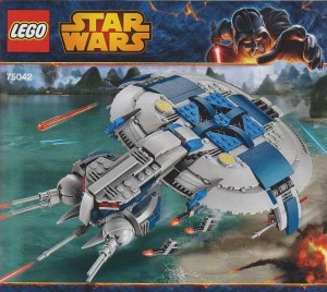 LEGO Star Wars 75042 Droid Gunship (Pre)
