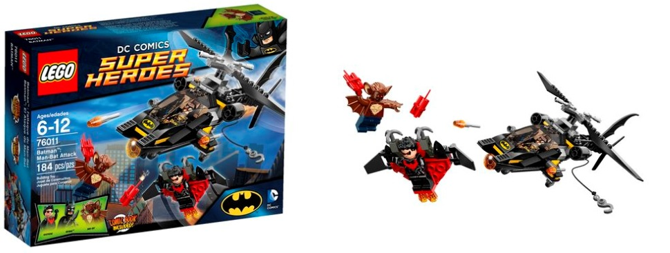 LEGO Super Heroes 76011 Batman Man-Bat Attack - Toysnbricks