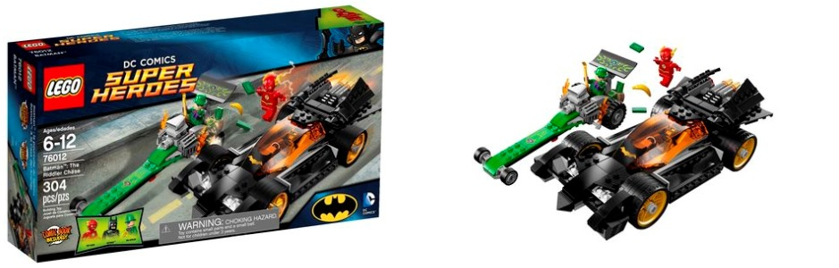 LEGO Super Heroes 76012 Batman The Riddler Chase - Toysnbricks