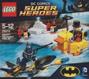 LEGO Super Heroes Batman 76010 The Penguin Face off (Pre)