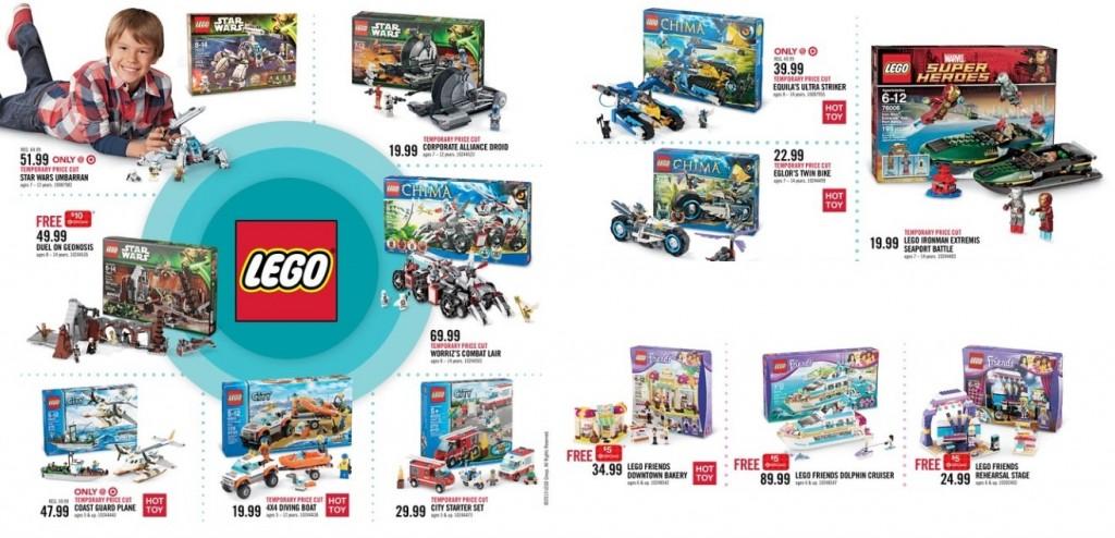 Target November 2013 LEGO Sale Canada