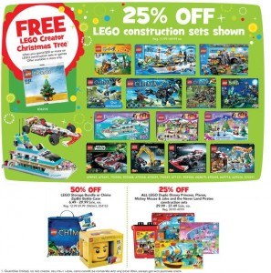ToysRUs USA LEGO November 2013 Holiday Sale