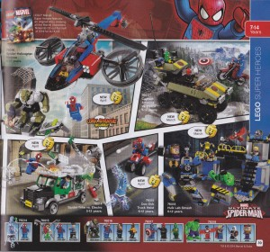 2014 LEGO Marvel Super Heroes Set Poster 76014 76015 76016 76017 76018