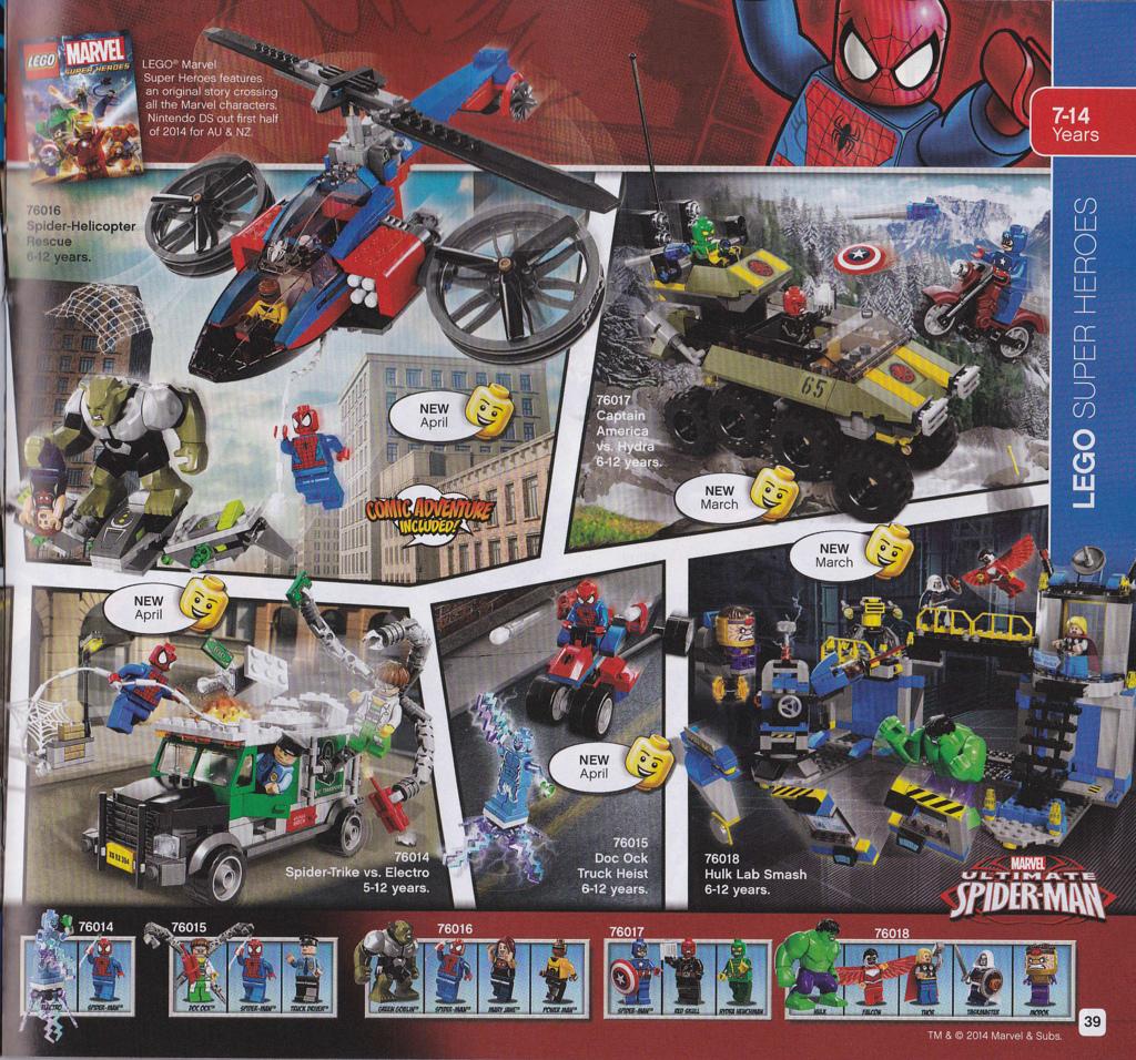 Lego super heroes 2014 - Logo super heros ...