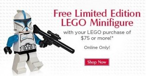 FAO Clone Trooper Lieutenant Minifigure December 2013 Promotion