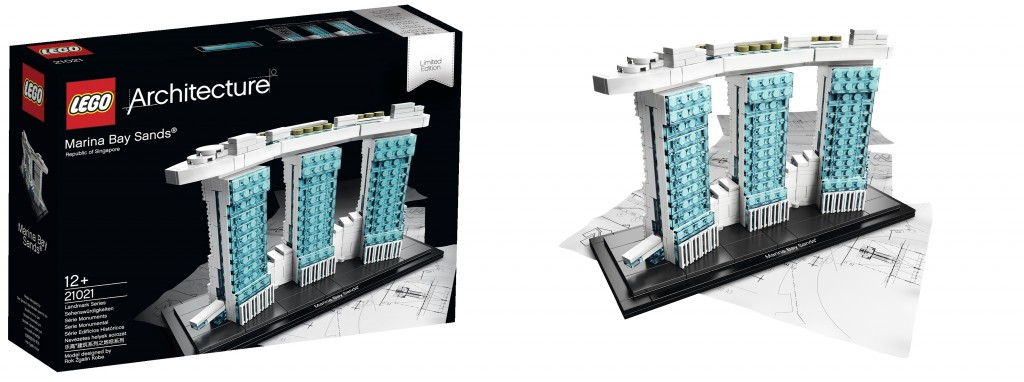LEGO 21021 Architecture Marina Bay Sands Hotel Singapore - Toysnbricks