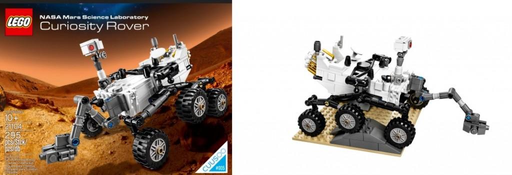 LEGO 21104 NASA Mars Science Laboratory Curiosity Rover Cuusoo 2014 - Toysnbricks