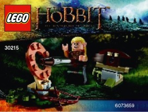 LEGO 30215 Hobbit Desolation of Smaug Legolas Greenleaf - Toysnbricks