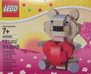 LEGO 40085 Valentine's Day Teddy Bear 2014 Set